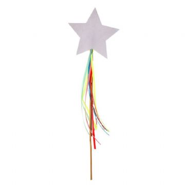 Rainbows and Unicorns Sparkly Wands - pack of 8